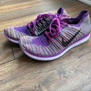 {preloved} Nike Free Run Fly Knit Sneakers